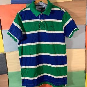 Tommy Hilfiger Striped Polo Shirt size XL